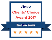 Avvo Client's Chioce 2017 Badge