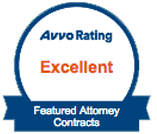 Avvo Rating Excellent - Featured Attorney Contracts