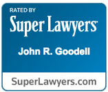 Super Lawyers - John R. Goodell Badge
