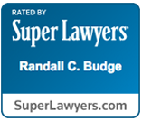 Super Lawyers- Randall C Budge Badge