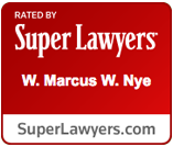 Super Lawyers W. Mrcus Nye Badge